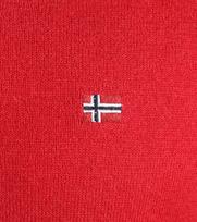 Detail Napapijri Dello Red