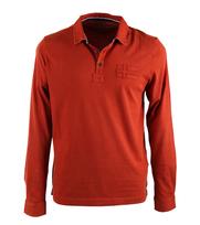 Napapijri Longsleeve Poloshirt Esia Orange