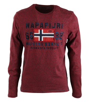 Napapijri Longsleeve T-shirt Soda Red