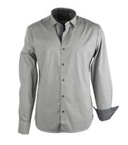 No-Excess Overhemd Beige Print