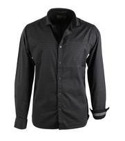 No-Excess Overhemd Dark Grey