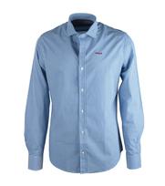 NZA Overhemd Blauw Dessin 16GN511