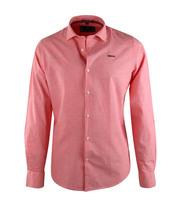 NZA Overhemd Uni Roze 16DN506