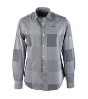 NZA Overhemd Zwart Wit Ruit