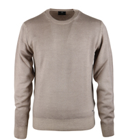 NZA Pullover Merino Wolle Beige