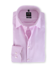 Olymp Body Fit Shirt Pink