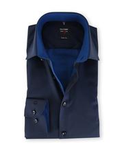 Olymp Level Five Shirt Blauw Body Fit