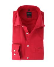 Olymp Luxor Shirt Modern Fit Rood