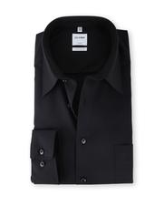 OLYMP Luxor Shirt Zwart Comfort Fit