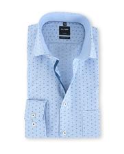 Olymp Modern Fit Shirt Blue Drops