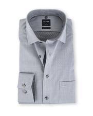Olymp Modern Fit Shirt Grijs Dessin