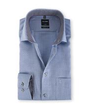 Olymp Modern Fit Shirt Indigo Pinpoint