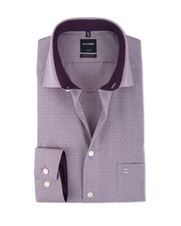 Olymp Modern Fit Shirt Paars
