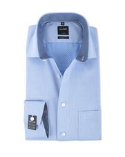 Olymp Modern Fit Shirt SL7 Blauw Dessin