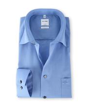 Olymp Shirt Blauw Comfort Fit