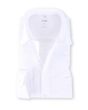 OLYMP Luxor Strijkvrij Shirt Comfort Fit Wit