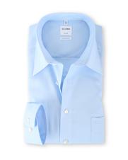 Olymp Shirt IJsblauw Comfort Fit