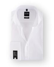 Olymp Shirt Wit SL7 Cutaway Dubbelmanchet