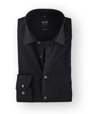 Olymp Shirt Zwart Body Fit