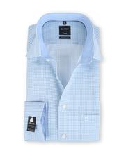 Olymp SL7 Modern Fit Shirt Blauwe Print
