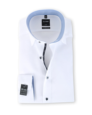 Olymp SL7 Modern Fit Shirt Wit