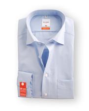 Olymp SL7 Overhemd Blue