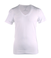 OlYMP T-Shirt Level Five Body Fit tiefer V-Hals Stretch