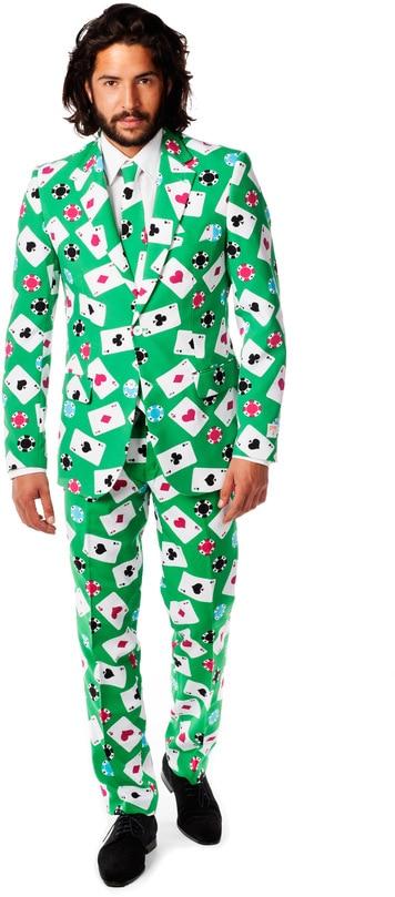 OppoSuits Poker Face Kostuum