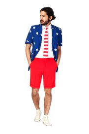 OppoSuits Summer Stars and Stripes Kostuum