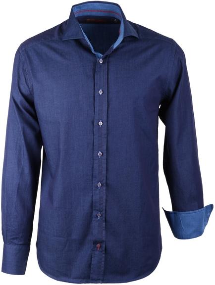 Overhemd Blauw Slim Fit
