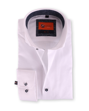 Overhemd Cutaway Wit 122-1