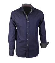 Overhemd Dark Blue Slim Fit