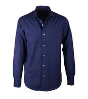 Overhemd Donkerblauw Fil Coupé