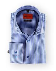 Overhemd Sl7 Blue Checks
