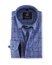 Overhemd Slim Fit Wrong Checks 127-6