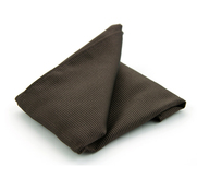 Pocket Square Silk Brown F45