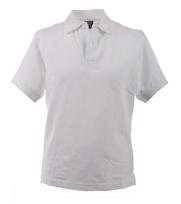 Polo Uni Pique White
