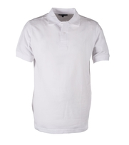 Suitable Polo Uni Pique White
