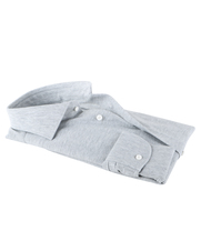 Detail Profuomo Knitted Shirt Grey
