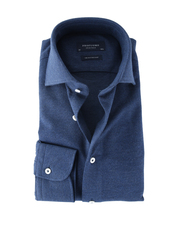 Profuomo Knitted Shirt Navy