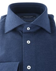 Detail Profuomo Knitted Shirt Navy