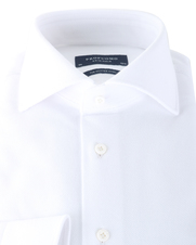 Detail Profuomo Knitted Shirt White