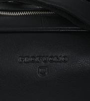 Detail Profuomo Laptoptas Leer Zwart