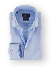 Profuomo Overhemd Cutaway Blue Checks