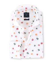 Profuomo Overhemd Herfstblad Slim Fit
