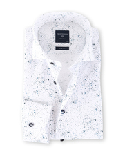 Profuomo Overhemd Splash Slim Fit