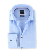 Profuomo Shirt Strijkvrij Blauw