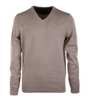 Pullover V-Hals Camel