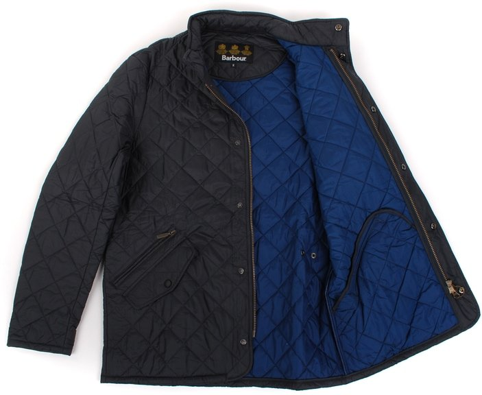 Detail Quilted Jas Barbour Chelsea