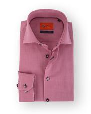Rood Ruit Overhemd Slim Fit 52-05